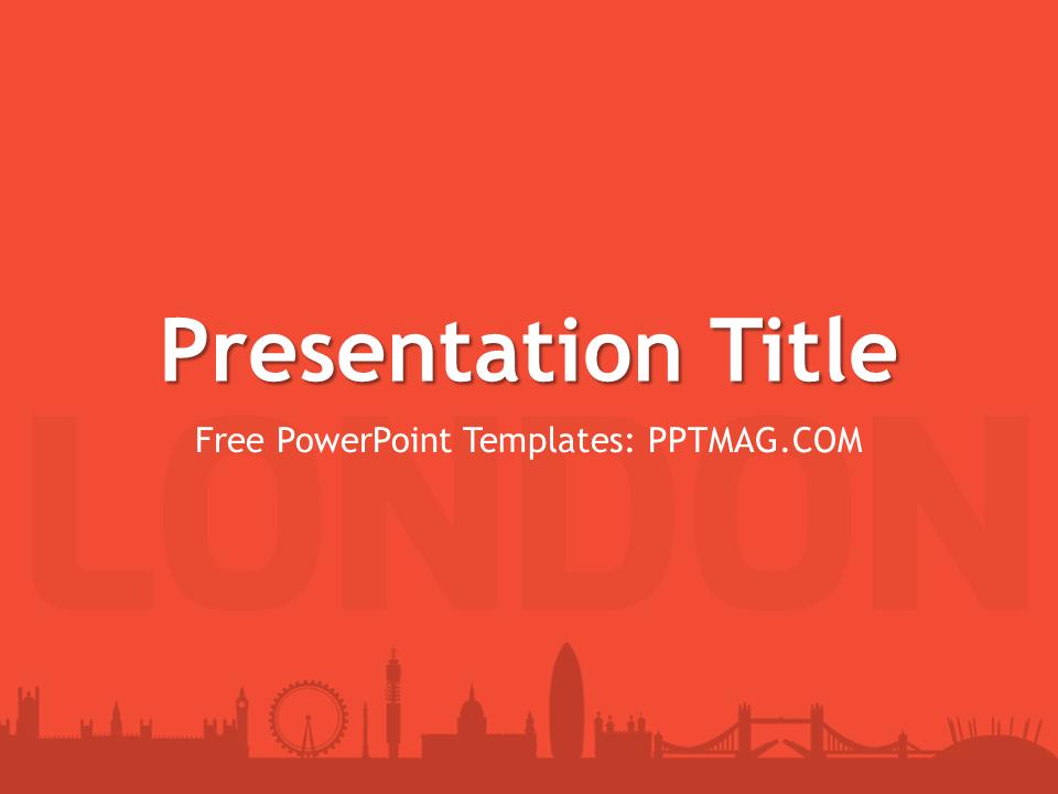 Free london powerpoint template pptmag toneelgroepblik Image collections