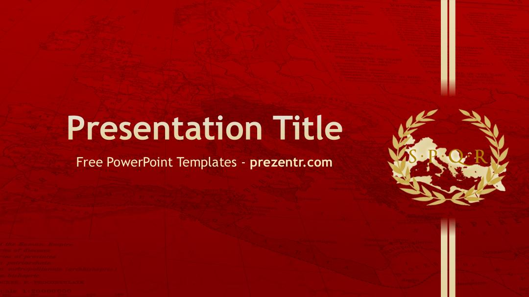Free roman empire powerpoint template prezentr toneelgroepblik Choice Image