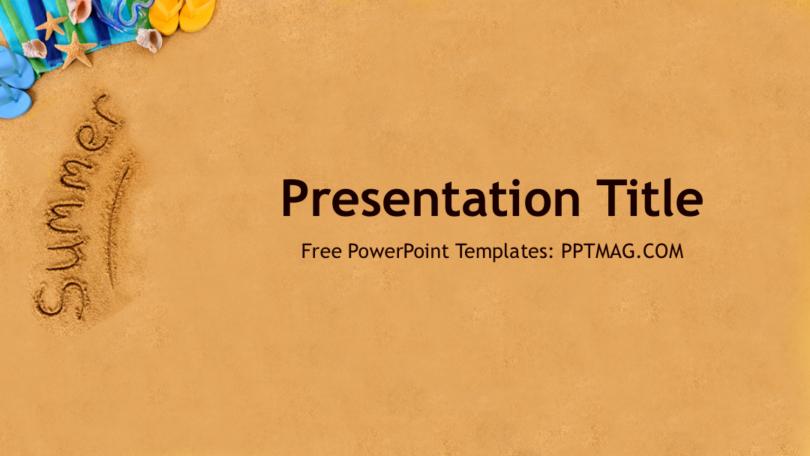 Free Summer Powerpoint Template Prezentr