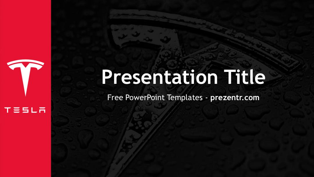 Free Tesla Motors Powerpoint Template Prezentr