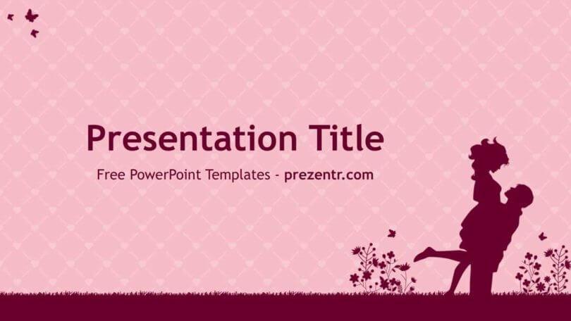 Free Couple Powerpoint Template Prezentr Ppt Templates