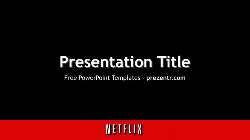 Free Netflix Powerpoint Template For Download Prezentr