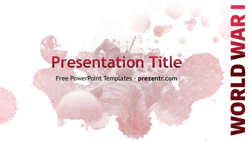 Free wwi powerpoint template prezentr powerpoint templates wwi powerpoint template toneelgroepblik Gallery