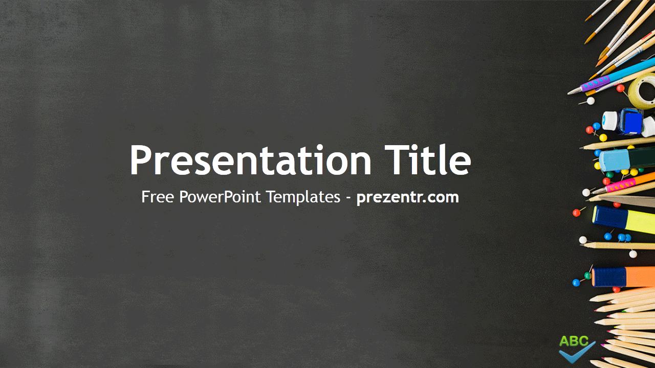 free grammar powerpoint template