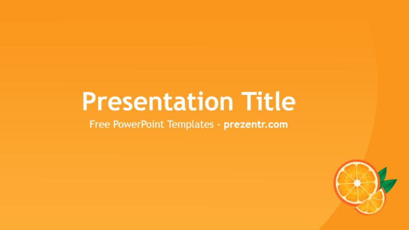 Free Oranges Powerpoint Template Prezentr Powerpoint Templates