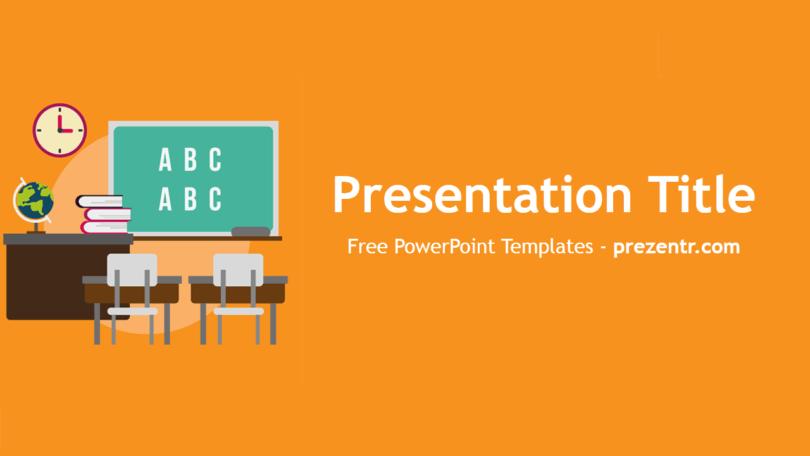 Free Class Powerpoint Template Prezentr Powerpoint Templates