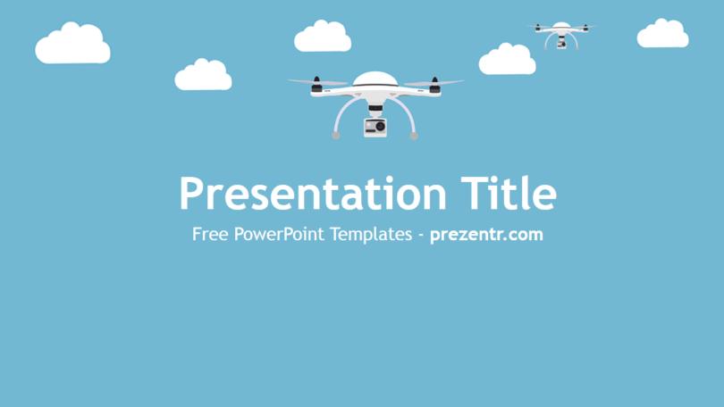 drones powerpoint template prezentr. Black Bedroom Furniture Sets. Home Design Ideas