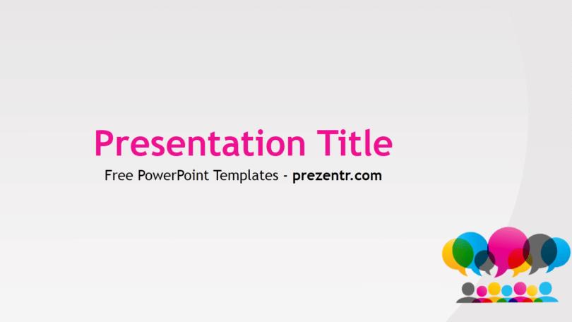 Free Language PowerPoint Template - Prezentr PowerPoint Templates