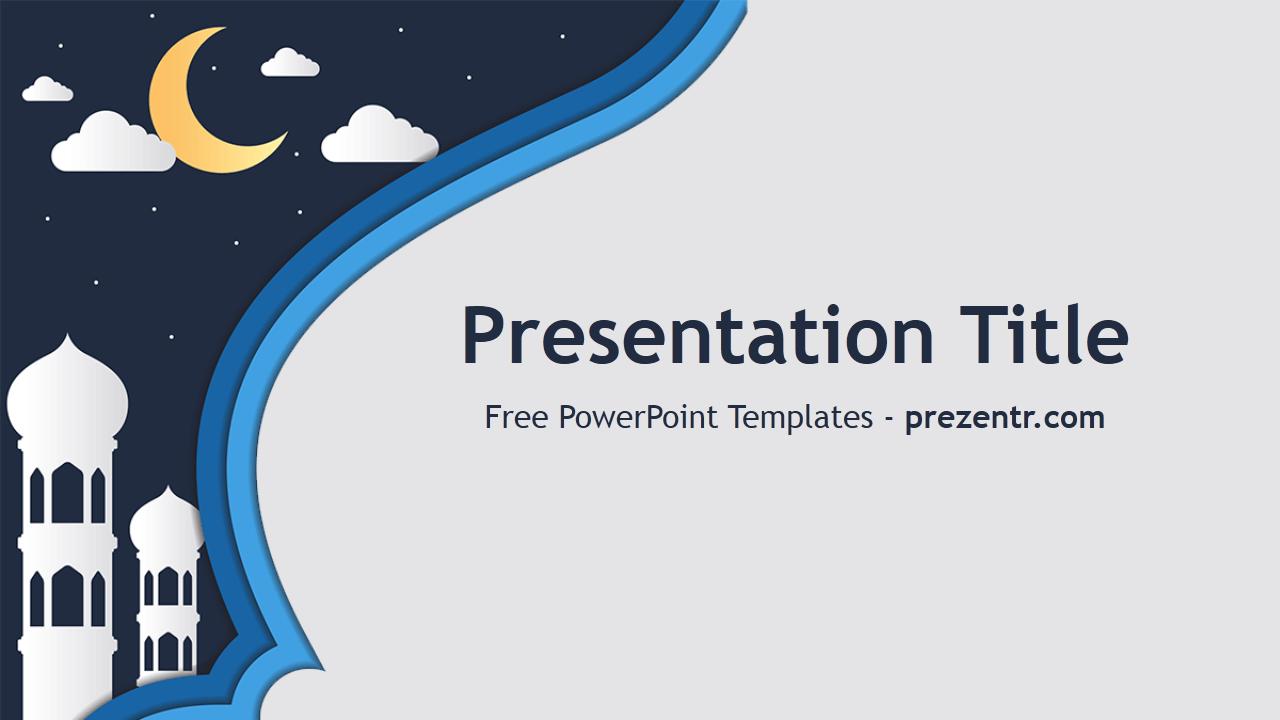 Free Mosque Powerpoint Template Prezentr Powerpoint Templates