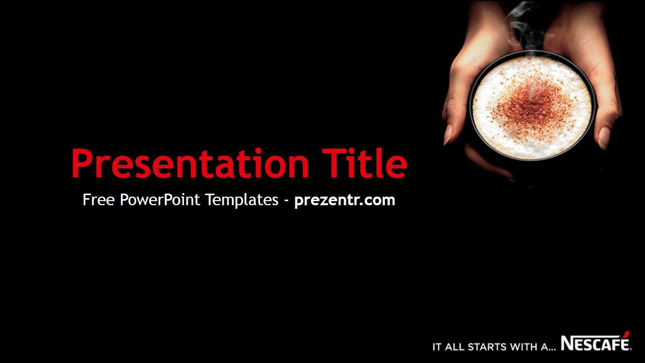 Free Nescafe Powerpoint Template Prezentr Powerpoint Templates