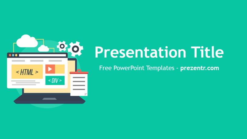 Free Web Development Powerpoint Template Prezentr Powerpoint Templates