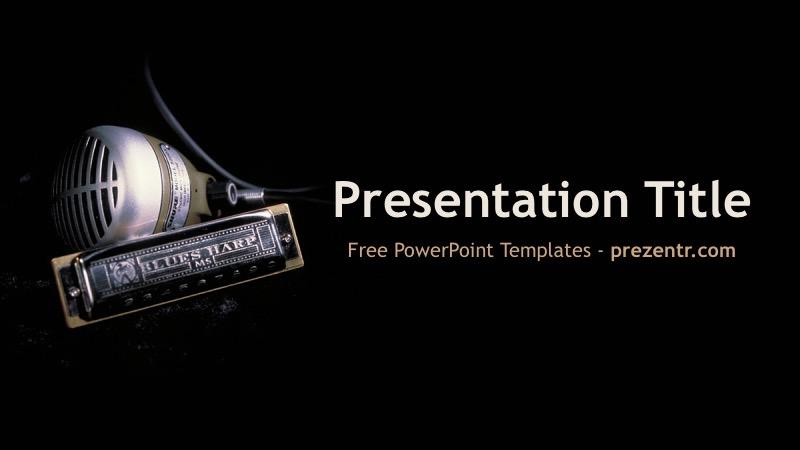 Free Blues Powerpoint Template Prezentr Ppt Templates