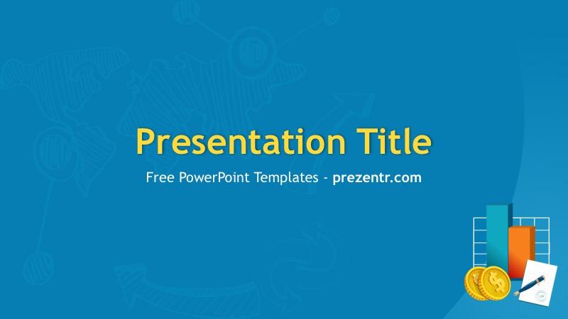 Free Financial Services Powerpoint Template Prezentr Ppt
