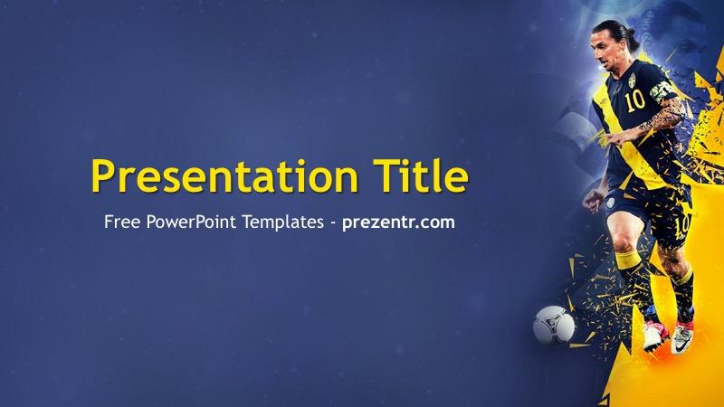 Free Zlatan Ibrahimovic Powerpoint Template Prezentr Ppt Templates