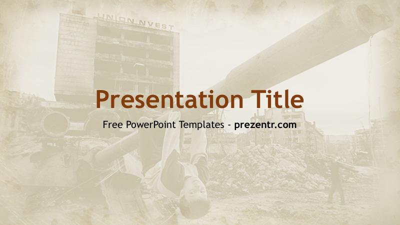 Free bosnian war powerpoint template prezentr ppt templates bosnian war powerpoint template toneelgroepblik Choice Image