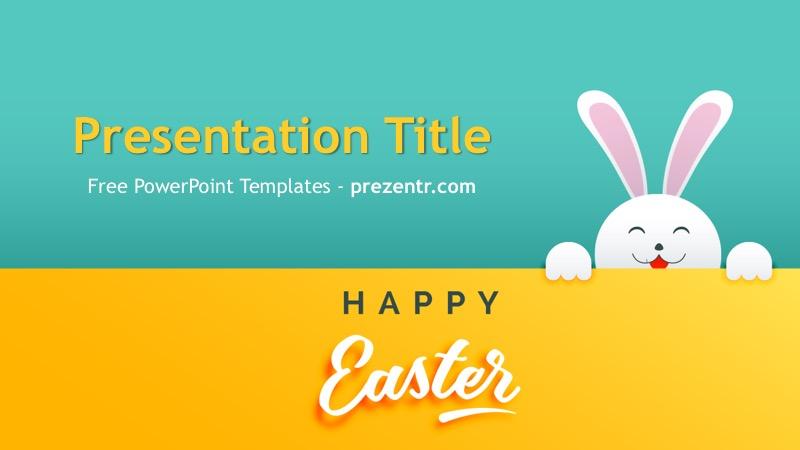 Free Easter Powerpoint Template Prezentr Ppt Templats