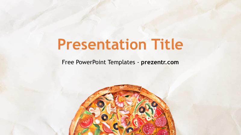 Free Pizzeria PowerPoint Template - Prezentr PPT Templates