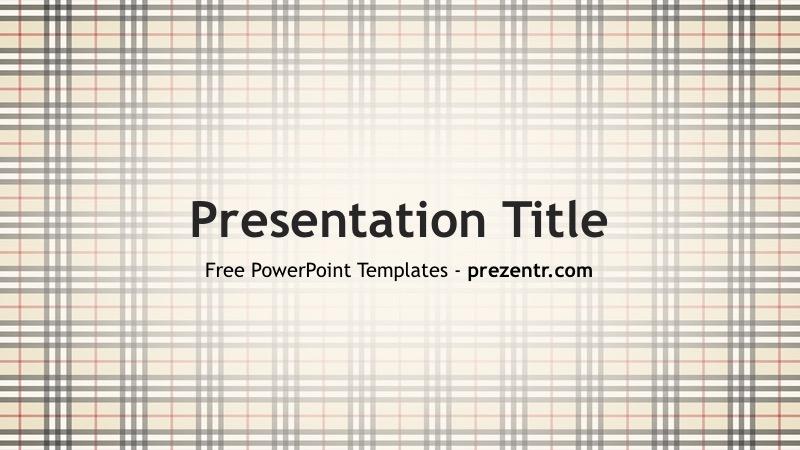 free burberry powerpoint template prezentr ppt templates