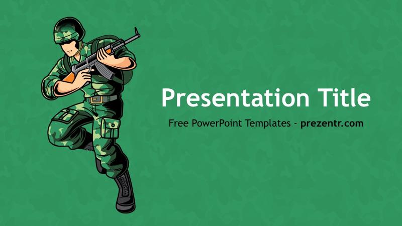 Army Powerpoint Template Preview Prezentr