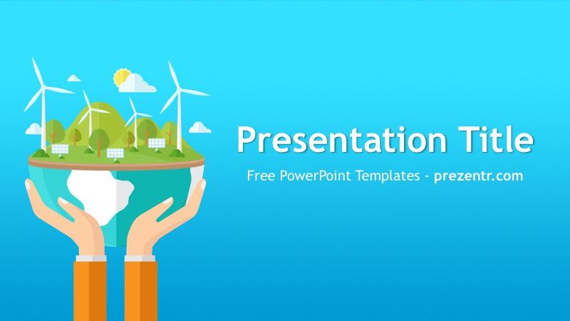 Free Renewable Energy Powerpoint Template Prezentr Ppt Templates