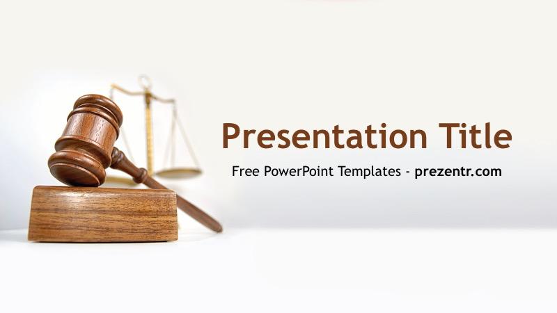 Free Verdict Powerpoint Template Prezentr Ppt Templates