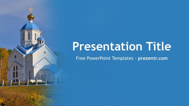 Free Orthodox Powerpoint Template Prezentr Powerpoint