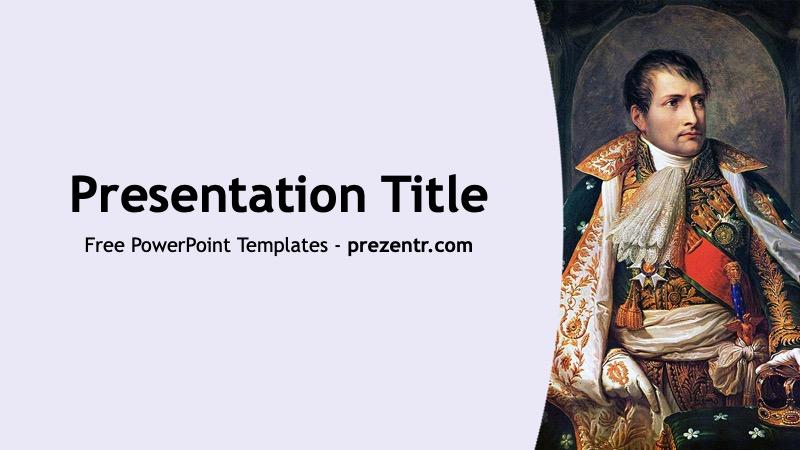 Free Napoleon Bonaparte Powerpoint Template Prezentr