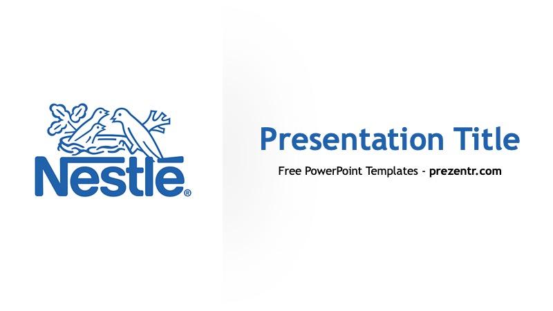 Free Nestle Powerpoint Template Prezentr Ppt Templates