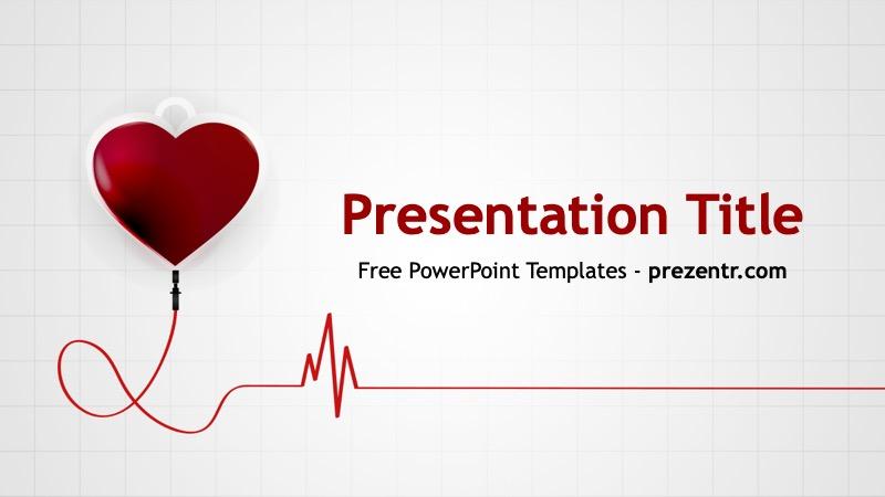 Free Blood Donation PowerPoint Template - Prezentr PPT Templates
