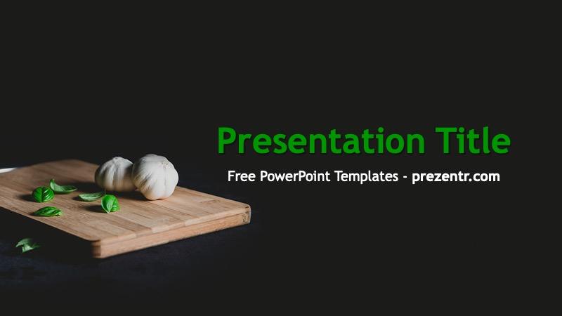 Free Garlic Powerpoint Template Prezentr Ppt Templates