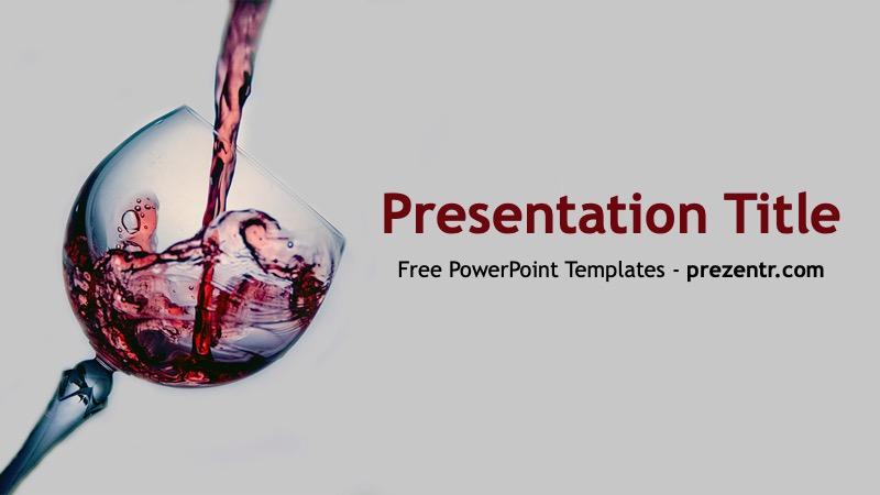 Free Wine PowerPoint Template - Prezentr PPT Templates