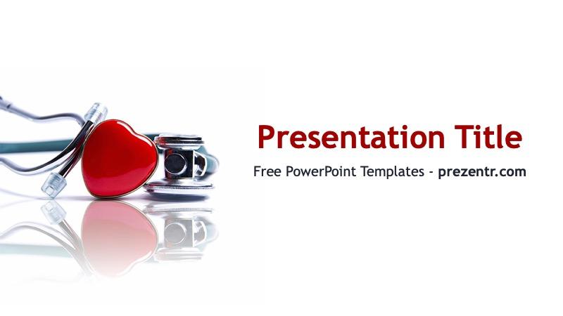 Free Heart Powerpoint Template Prezentr Ppt Templates