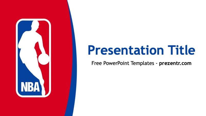 Free Nba Powerpoint Template Prezentr Ppt Templates
