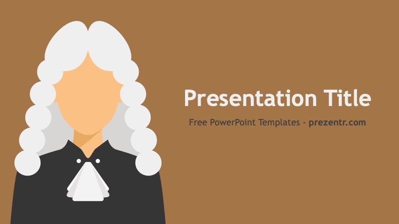 Free Judge Powerpoint Template Prezentr Ppt Templates