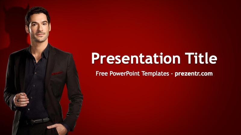 Free Lucifer Powerpoint Template Prezentr Ppt Templates