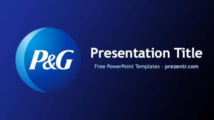 Free P U0026g Powerpoint Template