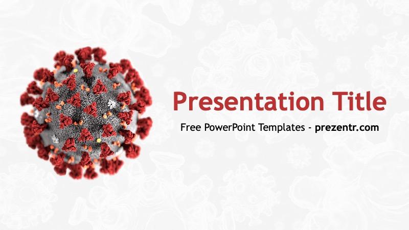 Free Coronavirus Powerpoint Template Prezentr Ppt Templates