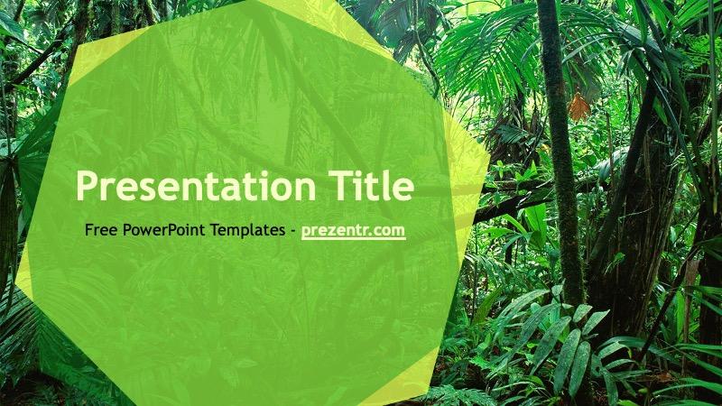 Jungle Powerpoint Template Prezentr Ppt Templates